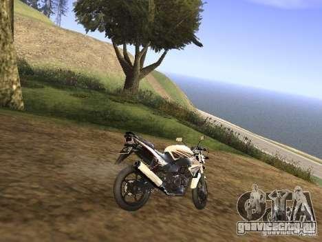 Yamaha V-Ixion для GTA San Andreas вид сзади слева