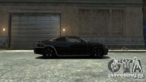 Dodge Charger Fast Five для GTA 4 вид слева