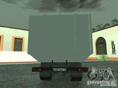 КамАЗ 53215 Мусоровоз для GTA San Andreas вид справа