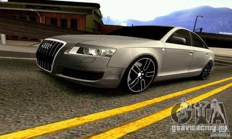 Audi A6 Blackstar для GTA San Andreas вид сбоку