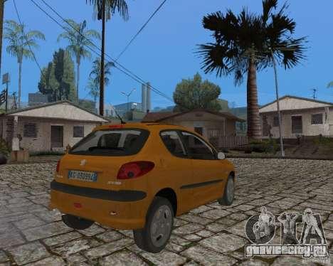 Peugeot 306 для GTA San Andreas вид слева