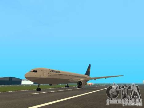 Boeing 767-300 Lufthansa для GTA San Andreas
