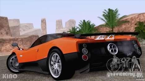 Pagani Zonda F для GTA San Andreas двигатель