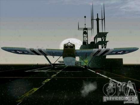 Самолёт из игры В тылу врага 2 для GTA San Andreas вид сзади слева