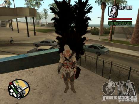 Эцио Аудиторе де Фиренце для GTA San Andreas четвёртый скриншот