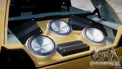Volkswagen Golf MK2 Tuning для GTA 4 вид сбоку