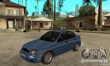 Daewoo Lanos v2 для GTA San Andreas