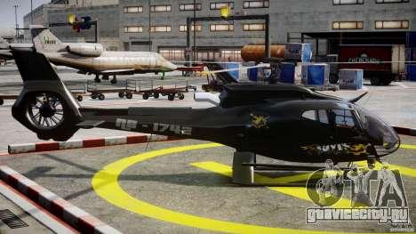 Eurocopter 130 B4 для GTA 4 вид изнутри