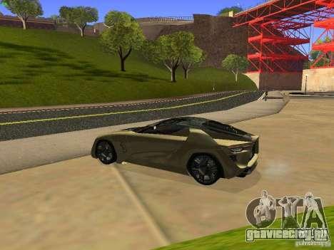 Bertone Mantide для GTA San Andreas вид справа