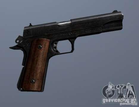 M1911 для GTA San Andreas четвёртый скриншот