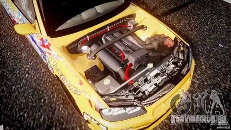 Nissan Skyline R34 GT-R Tezuka Goodyear D1 Drift для GTA 4 вид снизу