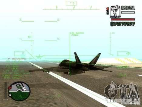 Xa-20 razorback для GTA San Andreas вид справа