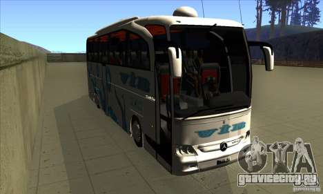 Mercedes-Benz Travego 15 SHD для GTA San Andreas вид сзади