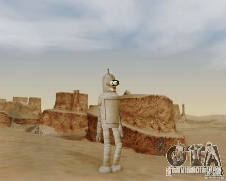 Futurama для GTA San Andreas