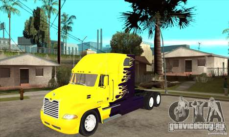 Mack для GTA San Andreas вид слева