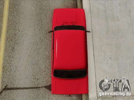 ВАЗ 21054 для GTA San Andreas вид сбоку