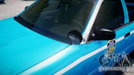 Ford Crown Victoria Classic Blue NYPD Scheme для GTA 4 колёса
