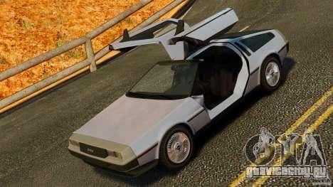 DeLorean DMC-12 1982 для GTA 4 вид сбоку
