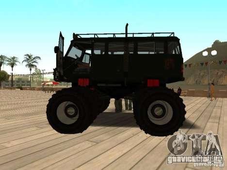 Uaz Monster для GTA San Andreas вид слева