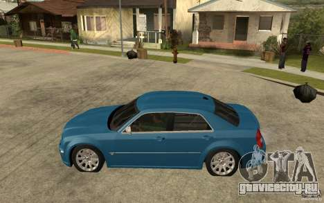 Chrysler 300C 6.1 SRT-8 2007 для GTA San Andreas вид слева