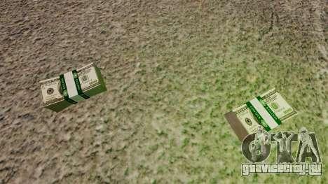 100 долларовые купюры Федерального резерва США для GTA 4 второй скриншот