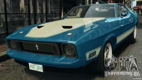 Ford Mustang Mach I 1973 для GTA 4
