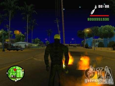 Ghost Ryder Skin для GTA San Andreas второй скриншот