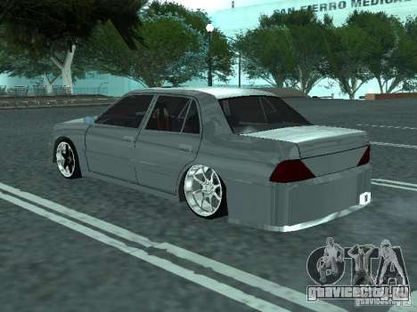 Toyota Crown S 150 TuninG для GTA San Andreas вид слева