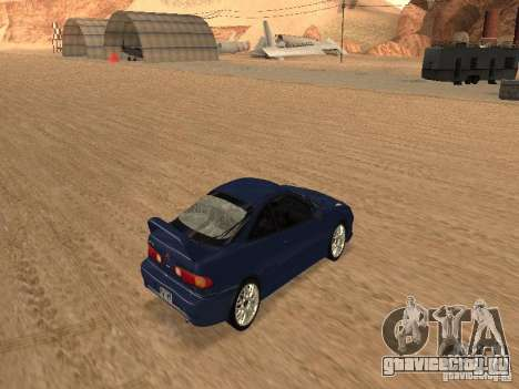 Acura RSX Light Tuning для GTA San Andreas вид сзади