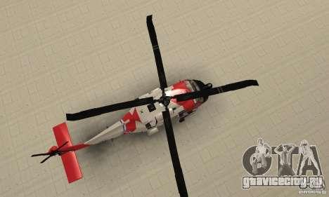 HH-60 Jayhawk USCG для GTA San Andreas вид справа