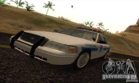 Ford Crown Victoria Arizona Police для GTA San Andreas