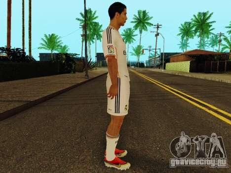 Криштиану Роналду v1 для GTA San Andreas второй скриншот