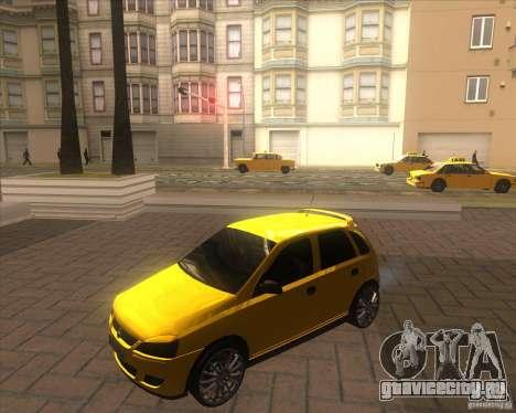 Opel Corsa C 2004 Deutsch style для GTA San Andreas