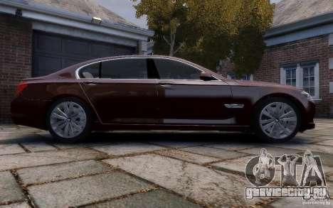 BMW 760Li 2011 для GTA 4 вид изнутри