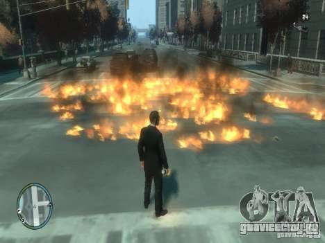 Intense Fire Mod для GTA 4