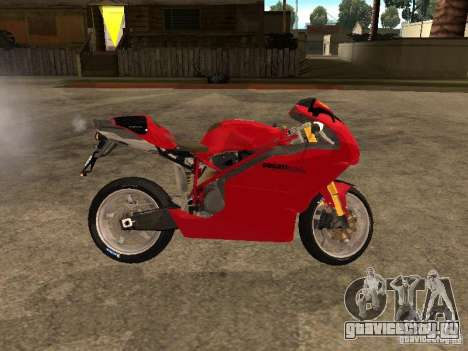 Ducati 999s для GTA San Andreas вид слева