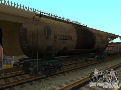 Цистерна №68Т 53911384 для GTA San Andreas вид слева