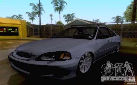 Honda Civic 1999 для GTA San Andreas вид слева