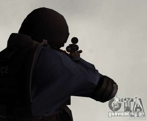 Винтовка из GTA IV для GTA San Andreas третий скриншот