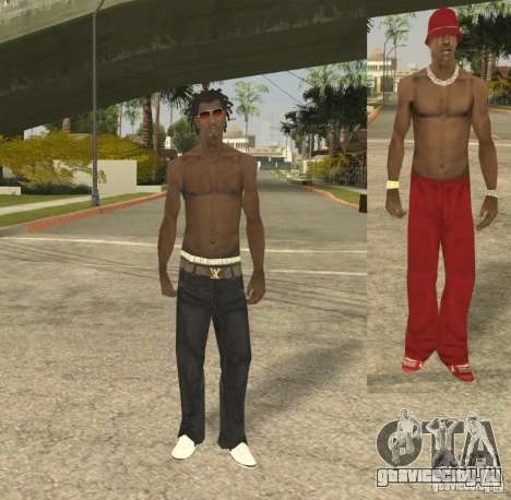 Afro-American Boy для GTA San Andreas