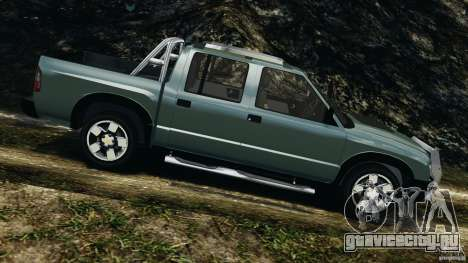 Chevrolet S-10 Colinas Cabine Dupla для GTA 4 вид слева