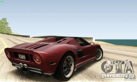 Ford GTX1 Roadster V1.0 для GTA San Andreas вид слева