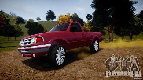 Ford Ranger для GTA 4 колёса