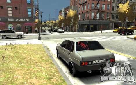 ВАЗ 21099 для GTA 4