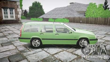 Volvo 850 Turbo 1996 для GTA 4 вид сбоку