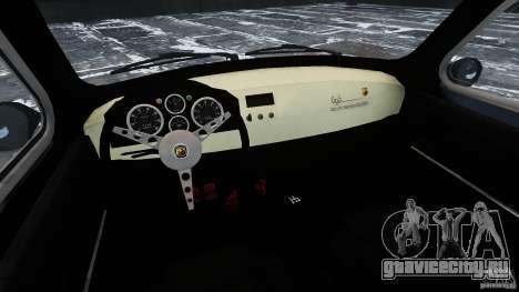 Fiat 500 695 Abarth для GTA 4 вид изнутри