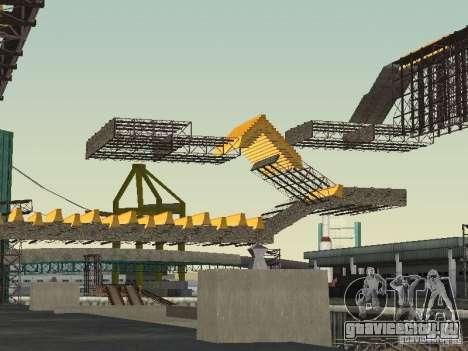 Huge MonsterTruck Track для GTA San Andreas четвёртый скриншот