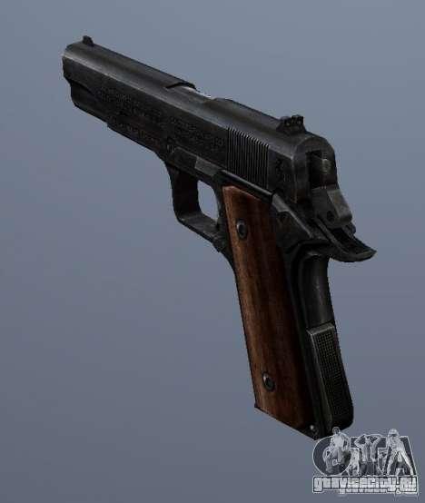 M1911 для GTA San Andreas второй скриншот