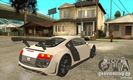 Audi R8 LMS v1 для GTA San Andreas вид справа