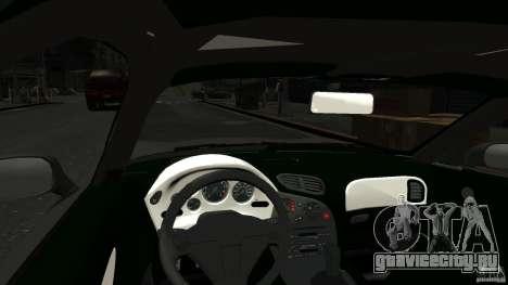 Mazda RX7 1995 Stock [EPM] для GTA 4 вид изнутри